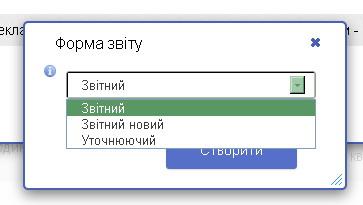 Форма отчета